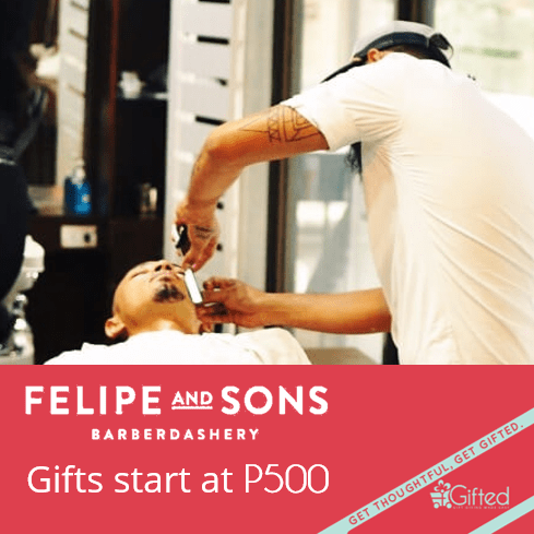 Felipe & Sons gift certificates online at Gifted.PH in Manila and Philippines