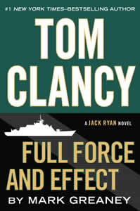 Books such as Full force and effect by Tom Clancy at Fully Booked that you can get for a friend in Manila and Philippines