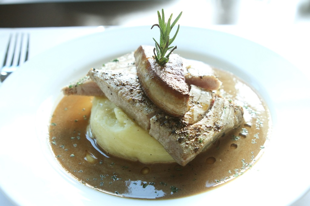 Steak with Foie Gras and Truffle Sauce at Le Jardin - Gift certificates at Gifted.PH Manila Philippines