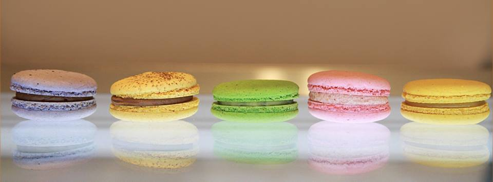 Colorful Macaroons from Chez Karine