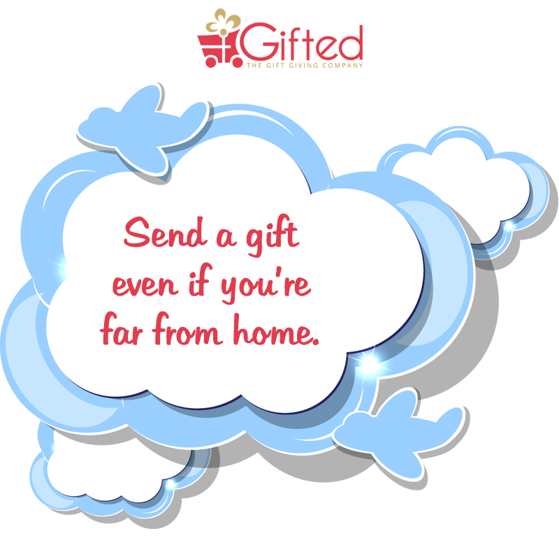 Keeping in touch despite the long distance with Gifted.PH online gift certificates. Great for OFW's and expats away from Manila and Philippines