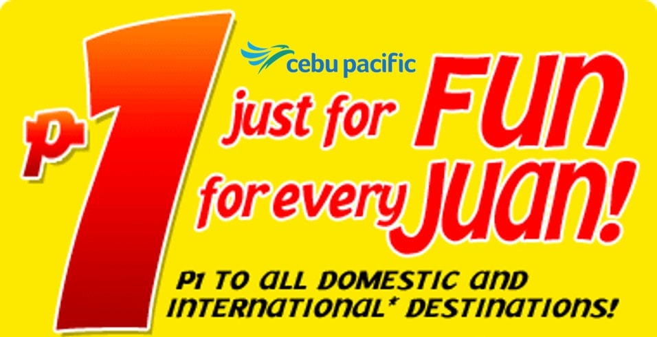 Seat Sale booking frenzy - Gifted.PH Blog