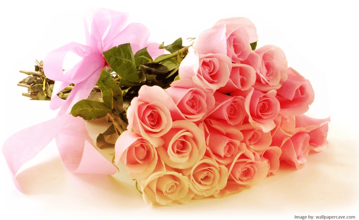 Bouquet of flowers for Valentine's Day