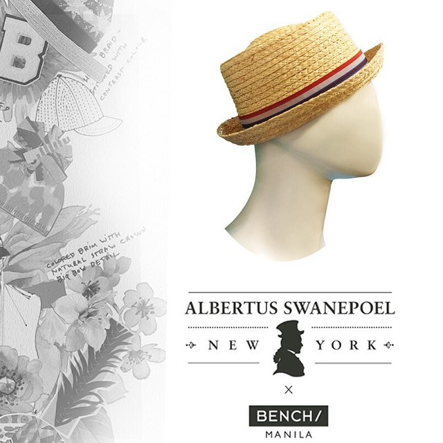 Hat from Albertus Swanepoel and Bench. Buy Bench Gift Certificates and Gift Cards at Gifted.PH online for anyone in Manila Philippines