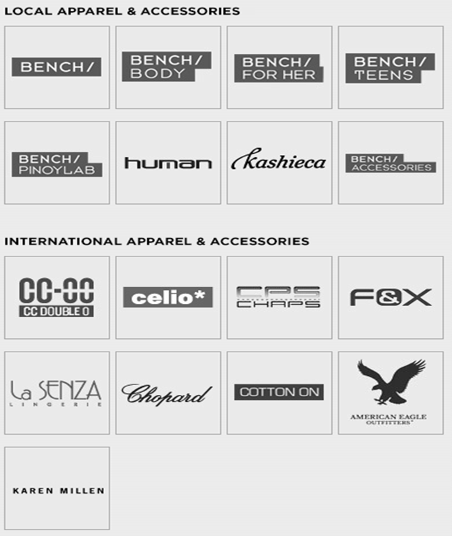 Buy Bench Gift Certificates and Gift Cards at Gifted.PH online for anyone in Manila Philippines. Brands available are Bench Body, Bench for Her, Bench Pinoy Lab, Kashieca, Human, La Senza, Cotton On, Celio, Chopard and more
