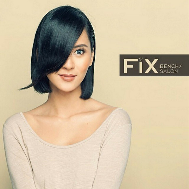 Haircuts like this Bob hair cut on Bianca Gonzales at Bench Fix Salon. Buy Bench Gift Certificates and Gift Cards at Gifted.PH online for anyone in Manila Philippines