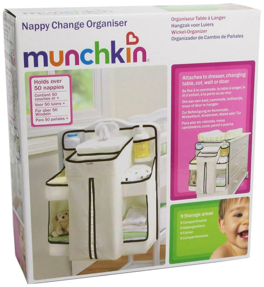 Munchkin Napkin Change organizer. Great for mommies. Buy Babyland Gift Certificates and Gift Cards at Gifted.PH online for anyone in Manila Philippines