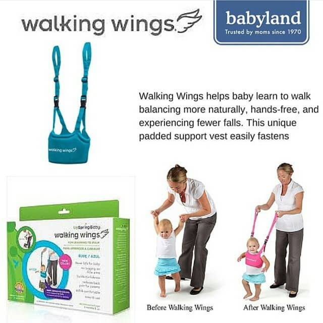 Walking Wings for Babies first walk. Buy Babyland Gift Certificates and Gift Cards at Gifted.PH online for anyone in Manila Philippines