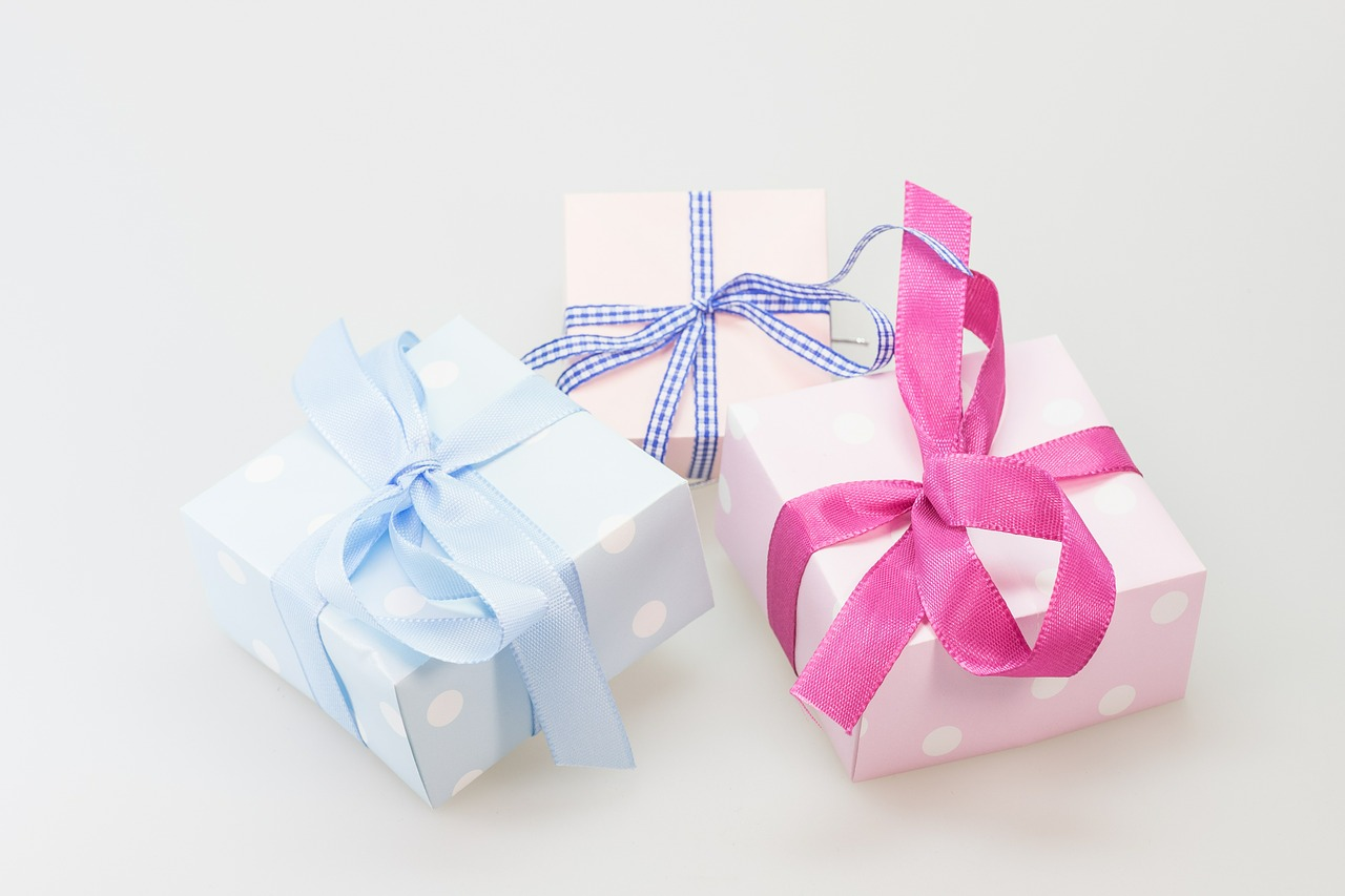 Wedding gifts such as Gifted.PH gift certificates