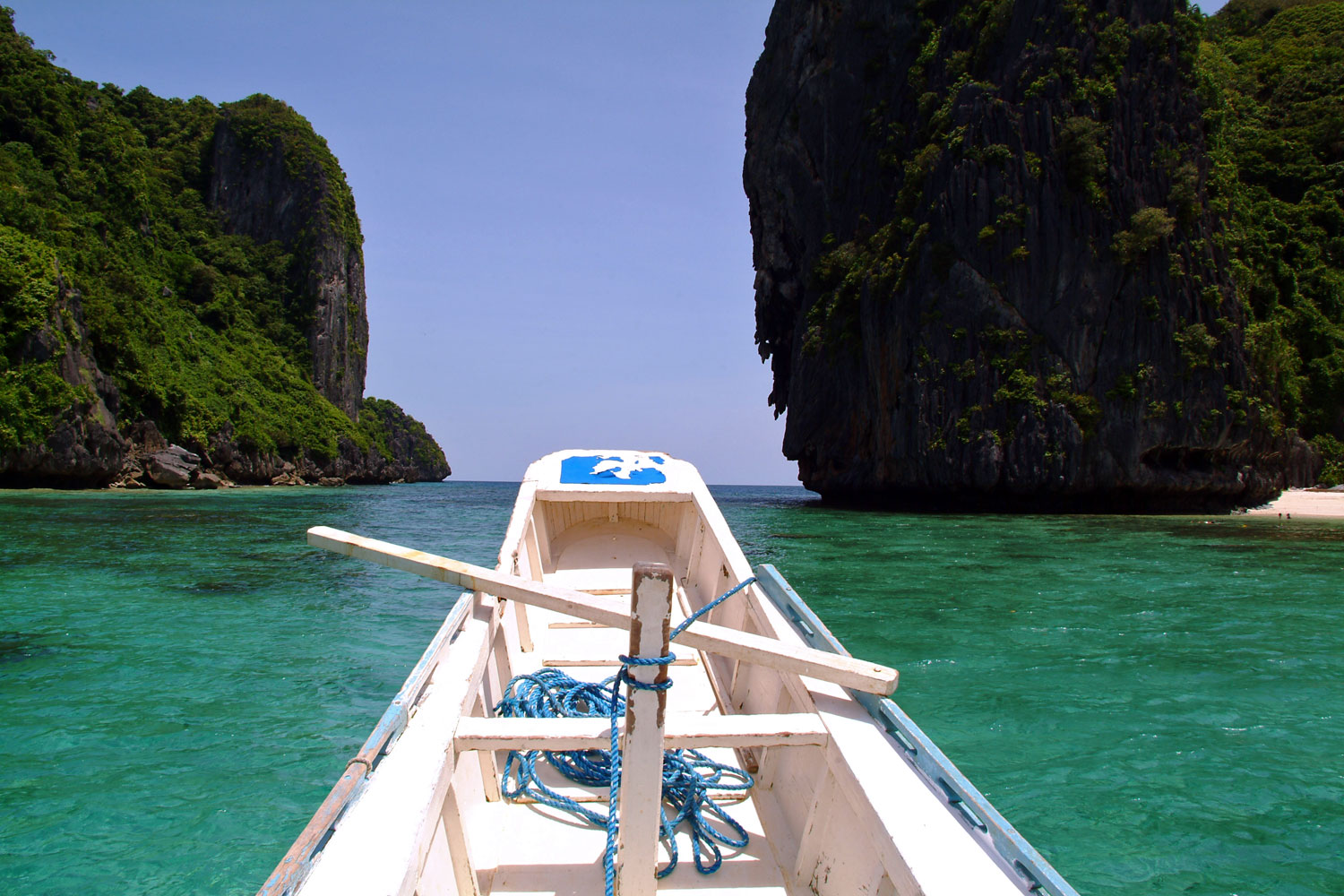 Palawan on a boat. Buy Uncharted Philippines Gift Certificates and Gift Cards at Gifted.PH online