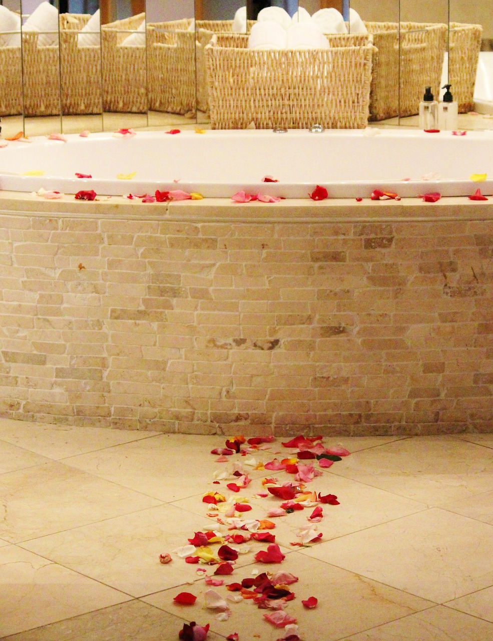 Honeymoon Ideas such as a spa pampering session