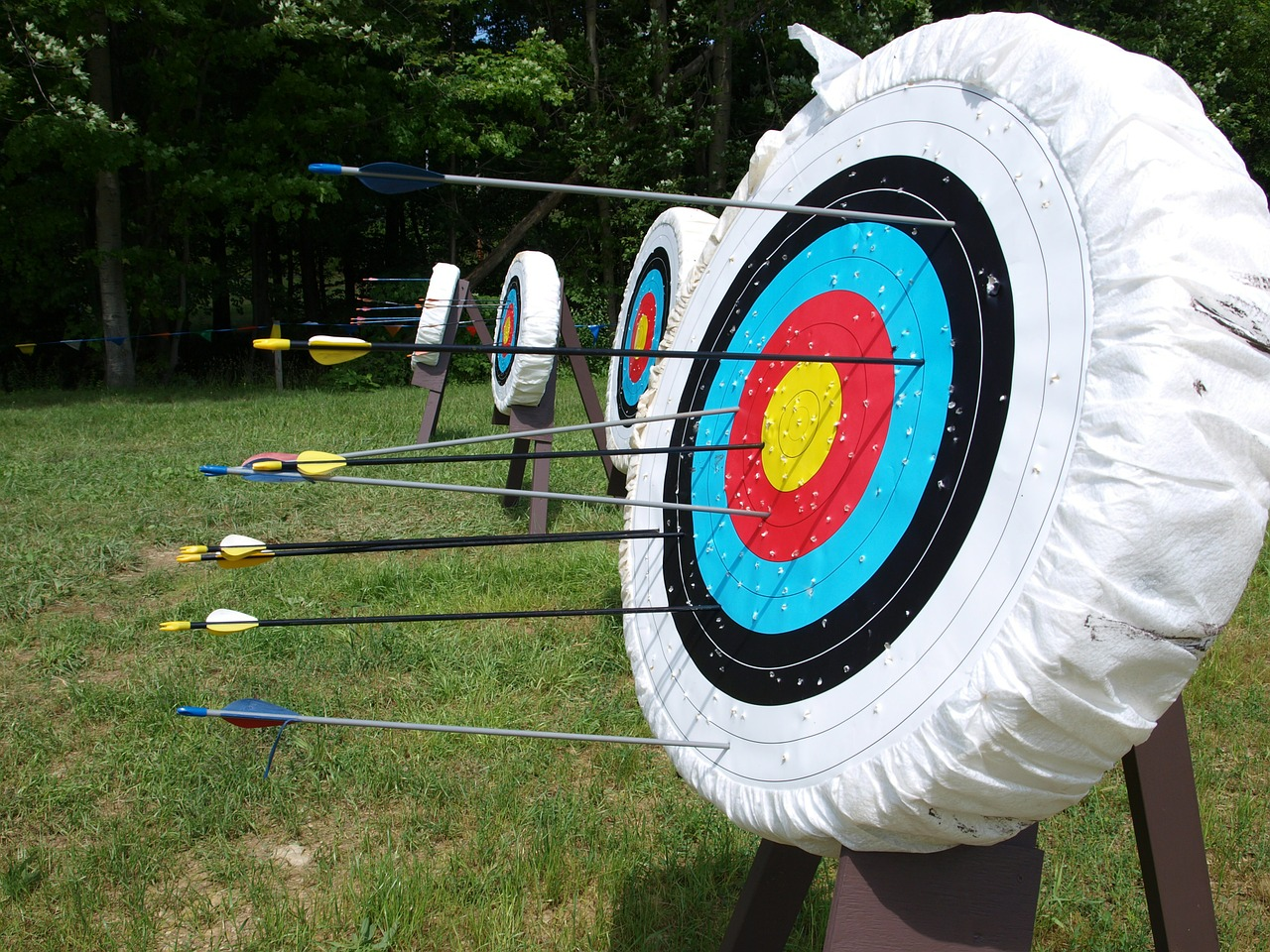 Archery Target Butts at a shooting range. Buy Benel Archery Gift Certificates and Gift Cards at Gifted.PH online for anyone in Manila Philippines