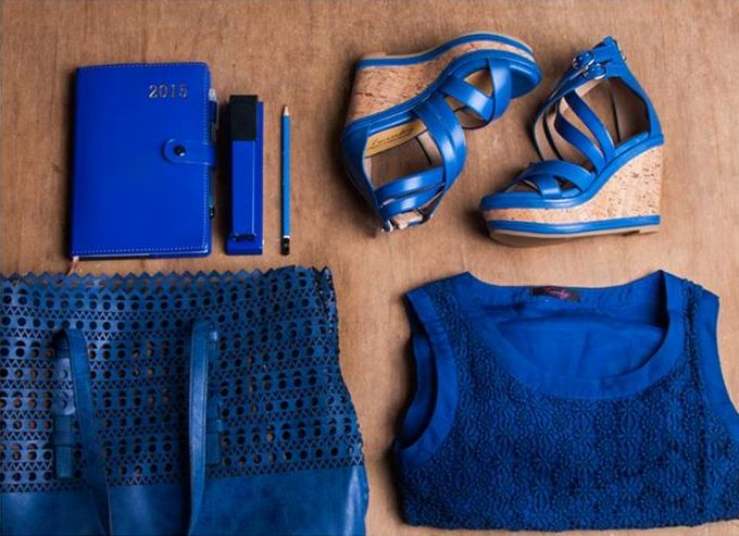 Twinky outfit for the day in blue - Shoes, bag, blouse. Buy Twinky Gift Certificates and Gift Cards at Gifted.PH online for anyone in Manila Philippines