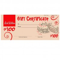 Buy and Send Red Ribbon Gift Certificates Online