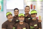 Llaollao Crew enjoying their store launch at Megamall